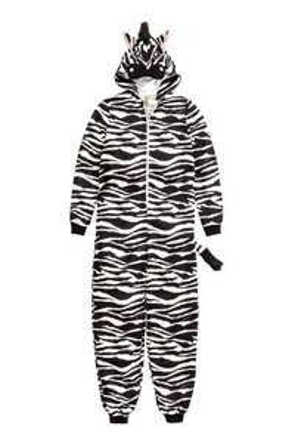 Ladies zebra onesie - £5.99 @ H&M