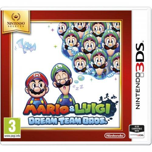 Nintendo Selects Mario & Luigi: Dream Team Bros (Nintendo 3DS) £11.99 @ Amazon Prime or £13.98 non- Prime