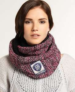 Superdry Twist Herder Snood Pink Twist £7.49 @ Superdry on eBay