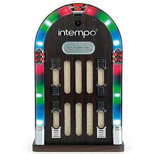 Intempo Mini Wireless Bluetooth Jukebox + Radio + Remote Control + AUX-input - Price Now £30 (was £89.99) FREE Delivery @ The Works