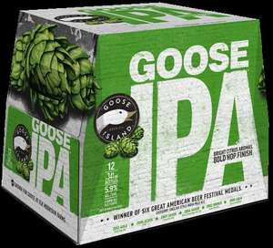 Goose Island IPA 12  x 355ml Cases reduced to £11.25 Tesco  instore