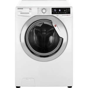 Hoover DXP412AIW3 12KG Large Capacity Washing Machine - White FREE DELIVERY, RECYCLING & CONNECTION £422.00 @ tescodirect