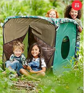 Kids Explorer Den (was £30) Now £12.00 with Free Click & Collect at ELC