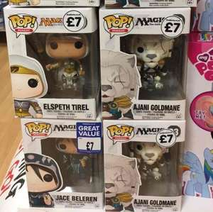 Magic the Gathering Pop Vinyl figures £7 @ the works in store