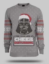 Darth Vader Christmas Jumper in S, M and L for £16 (£29.99 in XL) @ Game (free delivery)