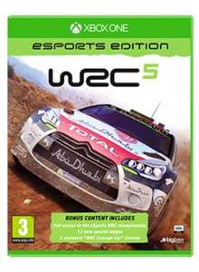 XBOX ONE WRC 5 eSports Edition game £10.39 + free postage @ game.co.uk