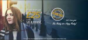 Accor flash sale hotel deal - rooms from just £25
