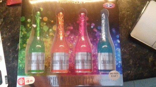 Champagne fizz shower gel set £1 Superdrug