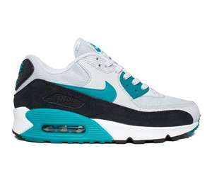 Nike Air Max 90 Essential(Pure Platinum/Radiant Emerald-Black-Summit White £49.99 was £94.99 @ Consortium