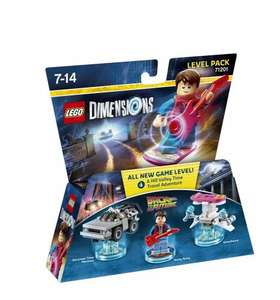 Amazon - LEGO Dimensions: Level Pack - Back to the Future £11.99 (Prime) £13.98 (Non Prime)