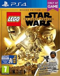 LEGO Star Wars: The Force Awakens Deluxe Edition - Only at GAME (PS4) £23.99 Delivered @ GAME