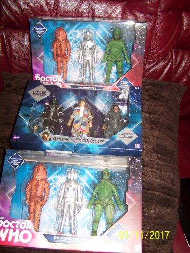 Dr who collectors figures sets £6.99 @ B&M