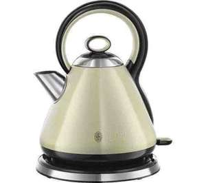 RUSSELL HOBBS Legacy 21882 Traditional Kettle - Cream £24.99 free delivery currys