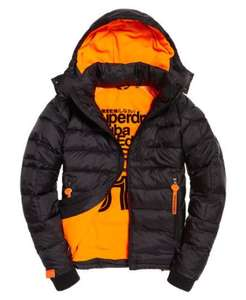 Superdry Winter Wet Scuba Jacket - Black £56.99 via Superdry eBay store