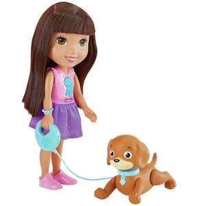 Fisher-Price Dora & Friends Train & Play Dora and Perrito -From Argos on ebay - £6.99