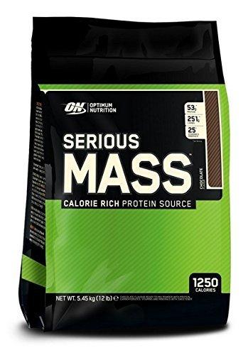 Optimum Nutrition Serious Mass Weight Gain Powder, 5.45 kg  £27.89 Amazon