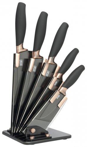Taylor's Eye Witness BROOKLYN COPPER FAN SHAPED CERAMIC KNIFE BLOCK - Cookshop Clearance Co. £34.00