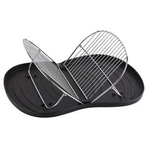 Stainless steel folding dish drainer £1 reduced from £9 @ Tesco Direct free C & C