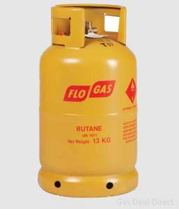 Full Butane gas cylinder inc Delivery @ gasdealsdirect