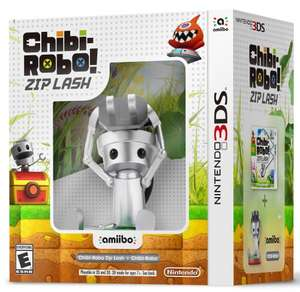 Chibi-Robo Pack Game & Zip Lash Amiibo (3DS) £11.95 Delivered @ Games Direct LTD via eBay
