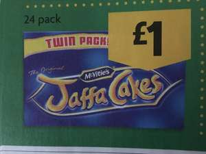 Jaffa Cakes 24pack for £1 at Morrisons