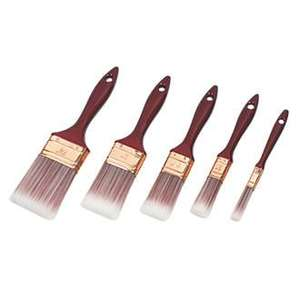 No Nonsense Synthetic bristle brushes 5 piece set Reduced from £6.99 to £3.49 Screwfix