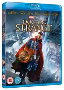 Doctor Strange Blu-Ray - £13.50 at Zoom with code (3D-Blu-Ray £17.09, DVD £8.99)