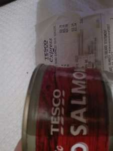 Red Salmon Tesco can 78p!