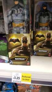 batman and superman figurine toy - £3.25 instore @ Tesco Direct