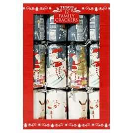 Tesco Instore - Christmas Crackers 12pk - £1