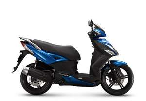Race blue 2017 kymco City + 50 £1699 @Kymco