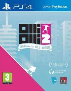 Olli Olli 2 Welcome to Olliwood (PS4) £8.34 @ hitari