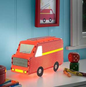 Transport Fire Engine Bedside Light (was £17.00) Now £8.50 at Asda George (links in 1st comment)