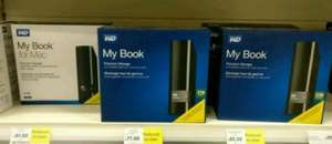 WD hard drives 3TB reduced to £81- Tesco instore