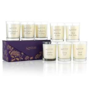 Sanctuary spa 3 x candle votives plus gift box-usually £23.75 delivered-now £10.75