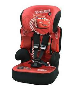 Pre-order Disney Cars Beline SP Highback Booster Car Seat With Harness £28.95 (Inc delivery) @ mothercare
