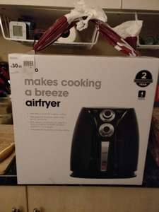 [Back In Stock]  Wilkos 4L Airfryer - £30