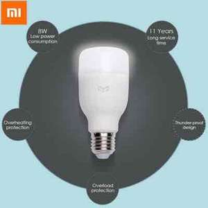 Original Xiaomi Yeelight E27 Smart LED Bulb - works with Amazon Echo! £9.71 @ Gearbest