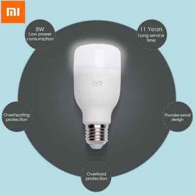 Original Xiaomi Yeelight E27 Smart LED Bulb - works with Amazon Echo! £9.71 @ Gearbest