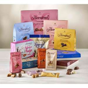 tasty treat bundle £19 @ Thorntons