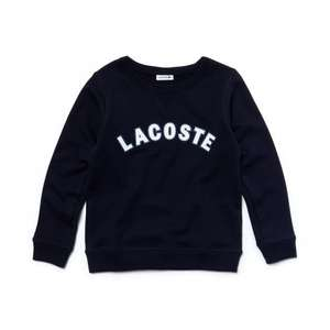 lacoste sale boys sweatshirt £22.00 free delivery sizes up to 16yrs