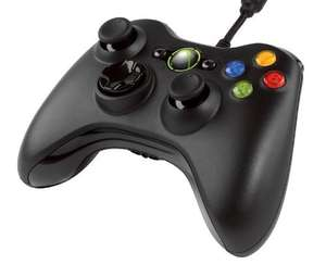 Official Xbox 360 (Microsoft) Wired Gamepad - Black £15 @ Asda instore