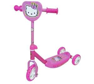 Hello Kitty Wide Ride Tri-Scooter - Pink £9.99 @ argos