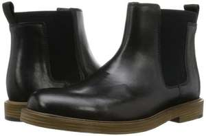 Men's Slip-On Chelsea Ankle Boots Feren Top Black Leather £32.00 + £3.00 UK delivery  @ Amazon Sold by Clarks