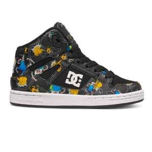 50% off Adventure Time REBOUND X AT B - HIGH TOP SHOES £25 DC Shoes
