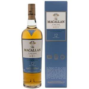 Macallan 12 Year Old Fine Oak Whisky 70cl £30  Amazon Lightning Deal