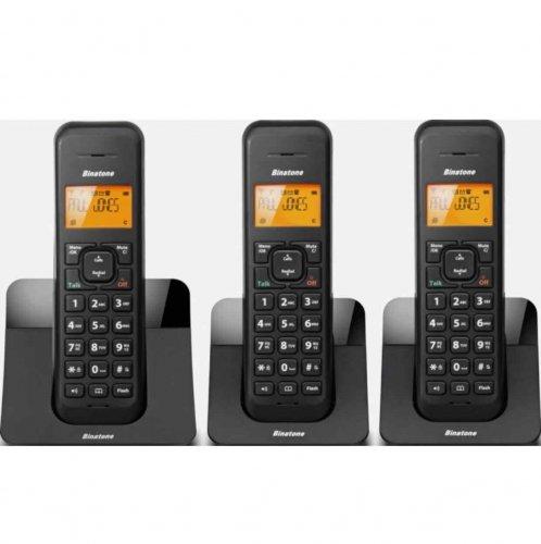 Binatone Luna Black Cordless Telephone Triple @ Argos ebay Free P&P - £19.19
