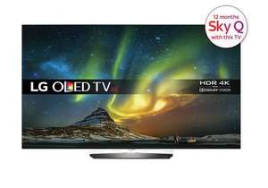 "LG OLED65B6V 65"" Ultra HD Premium with Dolby Vision with delivery £2474.09 cramptonandmoore"