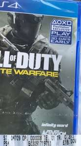 [PS4] Call of Duty: Infinite Warfare - £15.00 - Asda (Instore)
