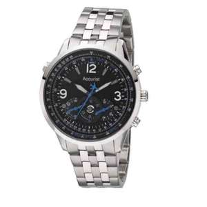 Accurist men's stainless steel bracelet chronograph watch £30 ernestjones